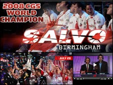 Screengrab of CGS website, Championship Gaming Series