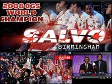 Screengrab of CGS website, Championship Gaming Series