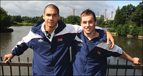 Louis Smith and Daniel Keatings