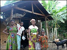 The Kanaan family in Kdere, Ogoniland