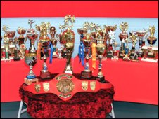 Trophies won by Heidi Davies