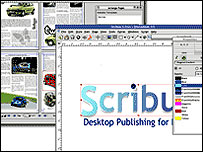 Scribus website
