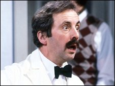 Manuel in Fawlty Towers.
