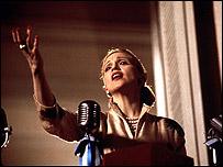 """Madonna en la película """"Evita"""""""