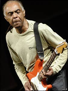 Gilberto Gil plays in Valencia, 9 July 2008