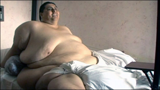 Manuel Uribe weighed more than half a ton making him the world's heaviest