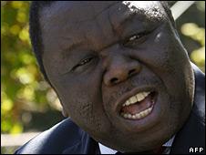 Morgan Tsvangirai (file)