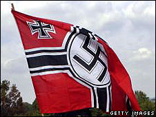 Swastika flag (file pic)