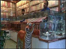 A gold jewellery shop in Dhaka