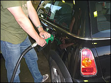 Rob filling up