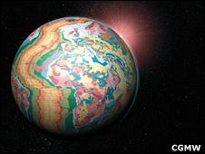Geological globe (CGMW)