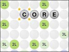Wordscraper game
