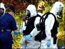 Anthrax investigation in Washington DC, 2001