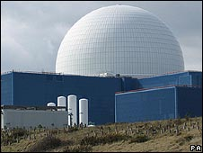 Sizewell B nuclear reactor