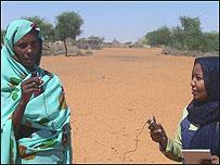 Periodista sudanesa por la paz. Foto cortesía peacexpeace.