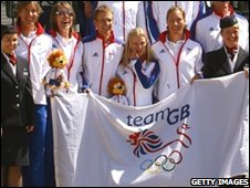 Team GB's rowers leave for Beijing