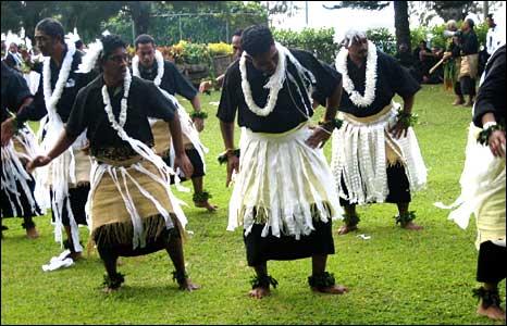Tongan men dance (pic David Marks)