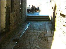 Barbican cobbles
