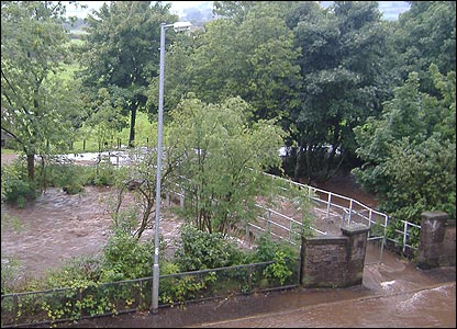 River at Glengarnock (picture from Drew McCourt)