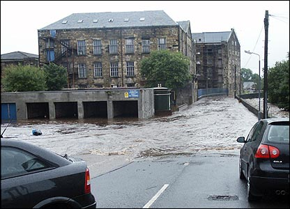 Mill Street, Kilbirnie (picture from Bill Cairns)