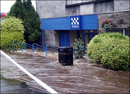 Kilbirnie Police Station (picture by Bill Cairns)