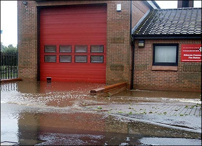 Kilbirnie Fire Station (picture from Bill Cairns)