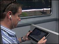 Wimax demo, BBC