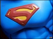 Superman logo from a toy
