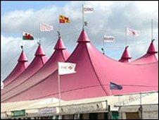 Eisteddfod main pavilion
