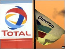 Total and Chevron signs