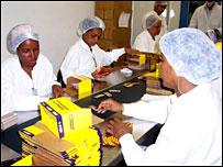 Farmacéutica en Brasil