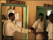 The island's school