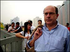 John Sweeny in China
