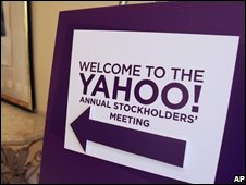 Yahoo shareholders meeting