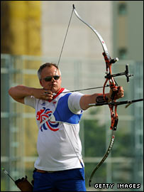 British archer Simon Terry