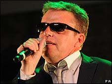 Madness singer Suggs