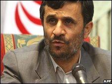 President Mahmoud Ahmadinejad, 03/08