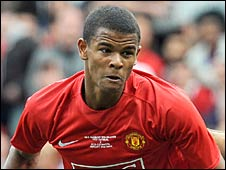 Manchester United's Fraizer Campbell