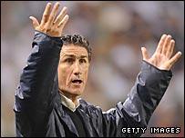 LDQ coach Edgardo Bauza