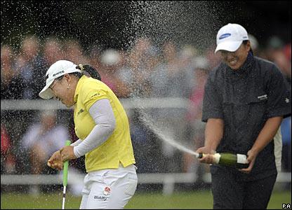 Ji-Yai Shin triumphs at the British Open at Sunningdale