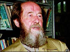 Alexander Solzhenitsyn (image from 1994)