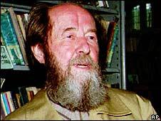 Alexander Solzhenitsyn (image from 1994)