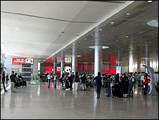 Check-in at Ben Gurion Airport (image: Israel Airports Authority)