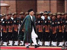 Hamid Karzai in Delhi