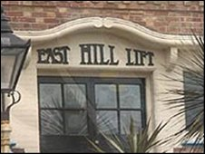 East Hill Lift entrance