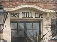 East Hill Lift entrance
