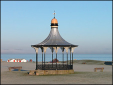 Bandstand at Nairn beach (Pic: Undiscovered Scotland)