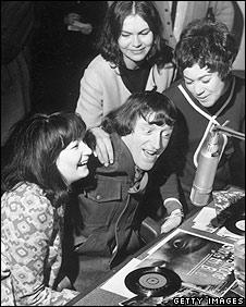 Jimmy Savile at Radio Luxembourg