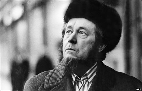 Alexander Solzhenitsyn in in Cologne, 1974
