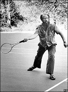 Alexander Solzhenitsyn in Vermont 1975